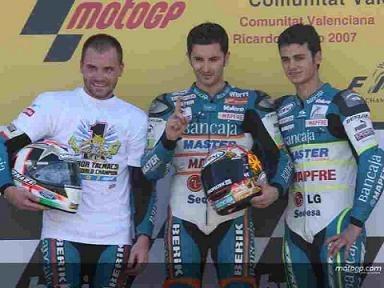 Moto GP 125 Valence: Victoire pour Faubel et titre pour Talmacsi