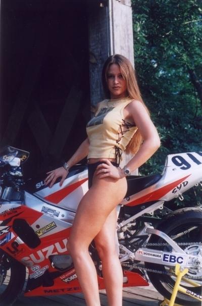 Moto & Sexy : Suzuki GSX-R numéro 919
