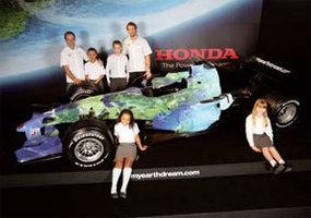 Honda Racing F1 Team veut rouler pour la planète !