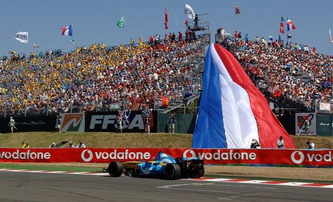 Le circuit de Magny-Cours renoue avec la Formule 1!