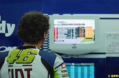 Moto GP 2008: Rossi testera ses Bridgestone à la fin du mois