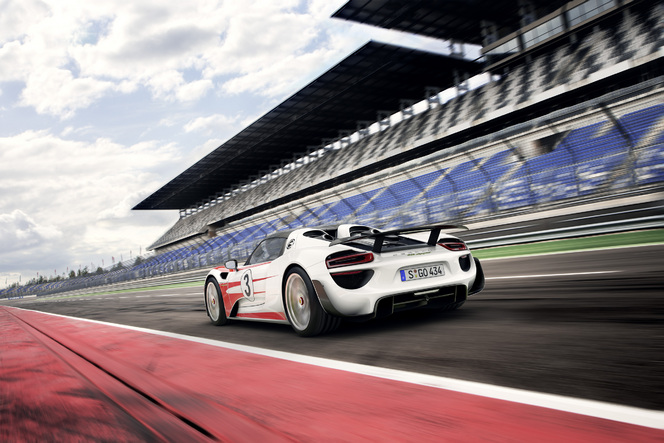 La Porsche 918 Spyder officiellement encore plus performante !