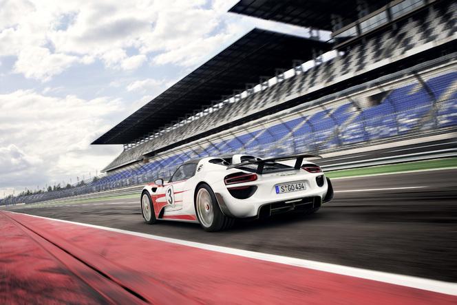 La Porsche 918 Spyder officiellement encore plus performante !