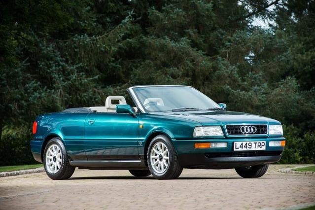 L'Audi 80 cabriolet de la princesse Diana bientôt à vendre