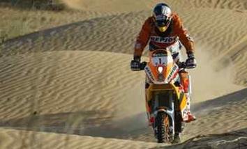 Marc Coma gagne le rallye de Dubaï