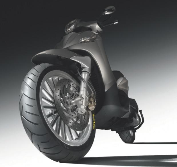 Pneumatique Scooter : Dunlop présente le ScootSmart
