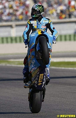 Moto GP - Valence: Podium - 3: Hopkins