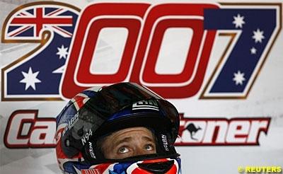 Moto GP - Valence: Podium - 2: Stoner
