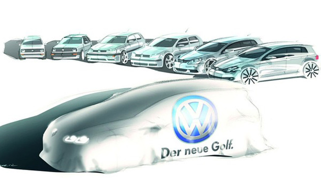 Guide des stands Mondial 2012 : Golf VII, la star chez Volkswagen