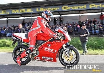 Vous offrir une Ducati ex-Fogarty, ça vous dit ?