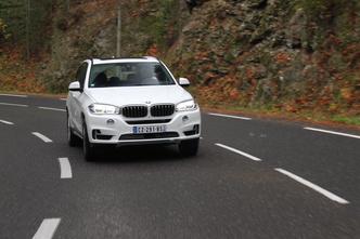BMW X5 (F15) : en avant-première, les photos de l'essai