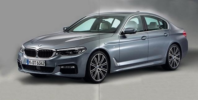 Surprise : la nouvelle BMW Série 5 en fuite