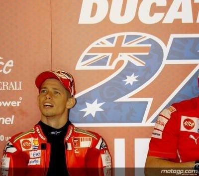 Moto GP - Laguna Seca: Stoner reste aux Etats-Unis pour avoir des réponses