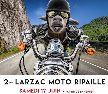 Larzac Moto Ripaille 2017: rendez-vous le samedi 17 juin prochain