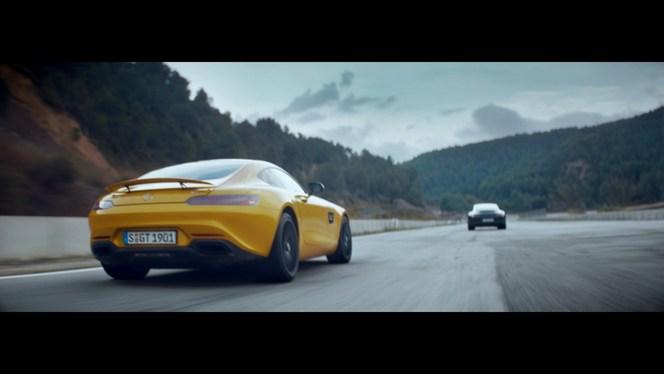 Publicité : Mercedes provoque Porsche