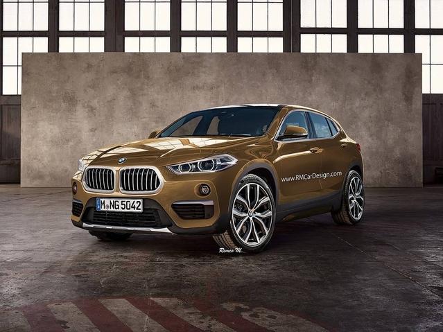 Futur BMW X2 : comme ça ?