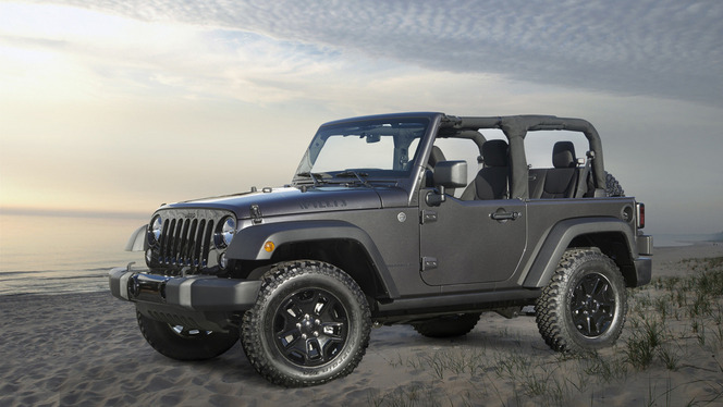 Los Angeles 2013 : Jeep Wrangler Willys Wheeler Edition