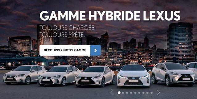 Lexus tacle les véhicules électriques