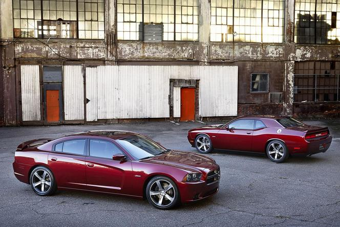 Los Angeles 2013 : Dodge Charger et Challenger 100th Anniversary