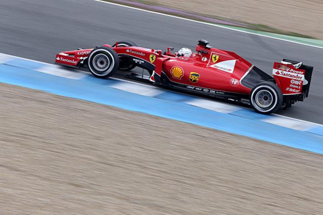 Essais F1 Jerez - Jour 2 : Sebastian Vettel et Ferrari restent en tête