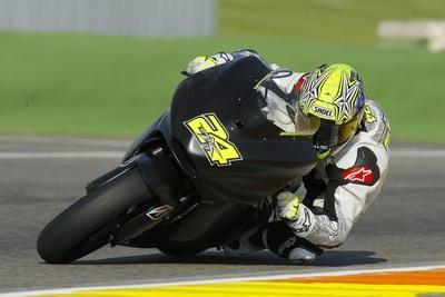 Moto GP Test - Valence: Guintoli découvre la Ducati