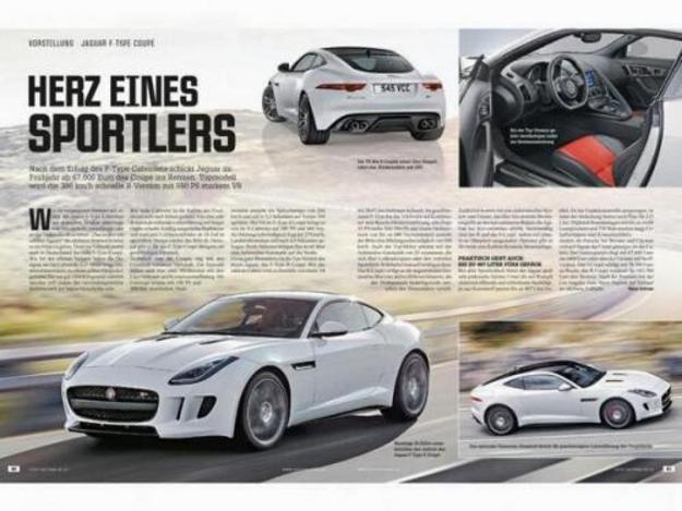 La Jaguar F-Type Coupé en fuite avant sa présentation