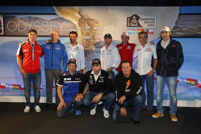 Dakar 2014 - Avec Carlos Sainz et Nasser Al-Attiyah placés, l'échiquier est en place!