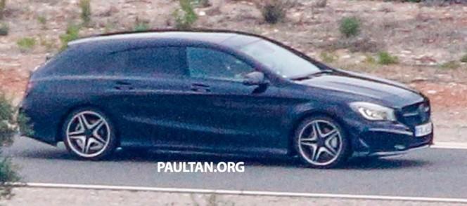 Surprise : la future Mercedes CLA Shooting Brake