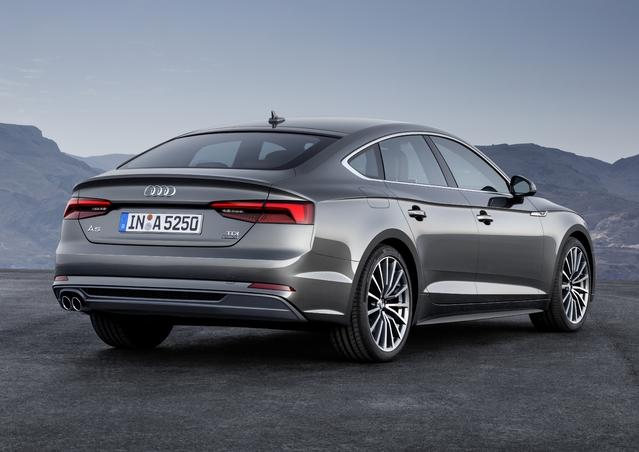 Nouvelle Audi A5 Sportback: à partir de 44300€