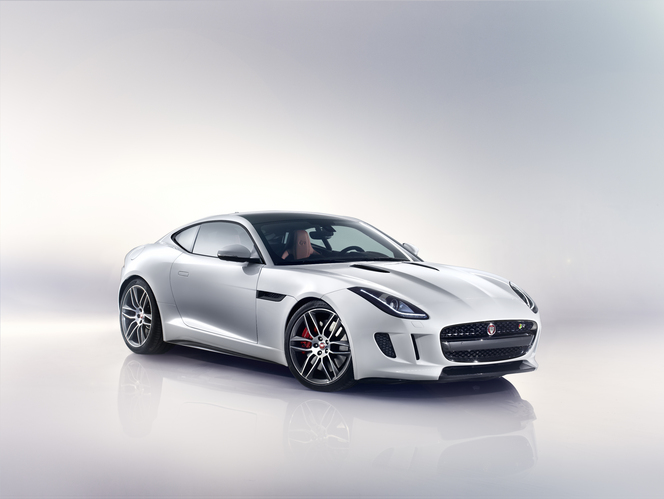 Jaguar F-Type coupé : officiel