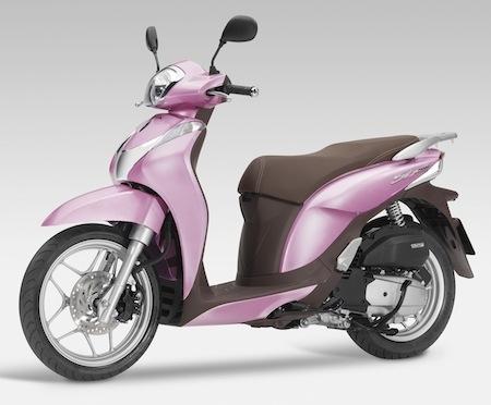 Nouveauté 2014: Honda SH125 Mode