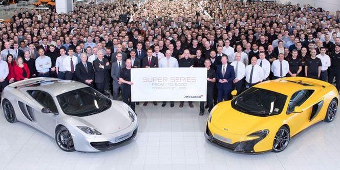 McLaren a produit 5000 voitures depuis sa création