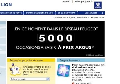 Les Occasion Du Lion : 5 000 occasions du lion prix argus peugeot d stocke ~ Pogadajmy.info Styles, Décorations et Voitures