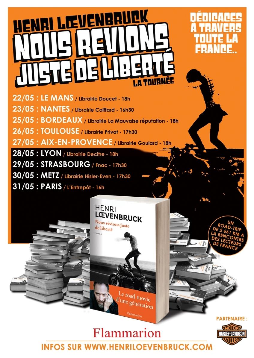 Livre : Henri Loevenbruck « Nous rêvions juste de liberté »