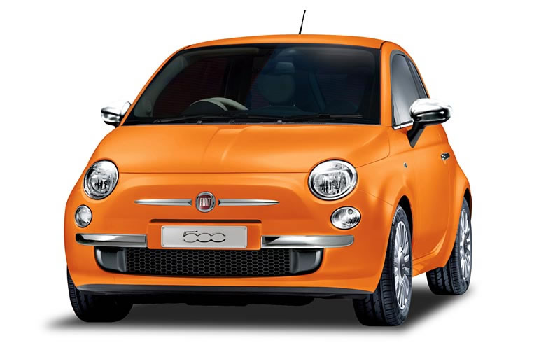 fiat 500 arancia orange et japonaise. Black Bedroom Furniture Sets. Home Design Ideas