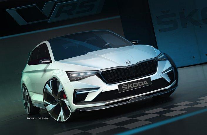 Mondial de Paris 2018 - Skoda annonce le concept Vision RS (màj)