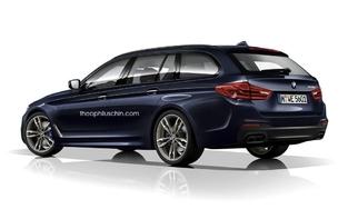 Design : deux graphistes imaginent la BMW Série 5 en break Touring