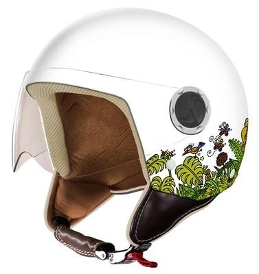 Nouveau casque jet Kukuxumusu: le Forestan.
