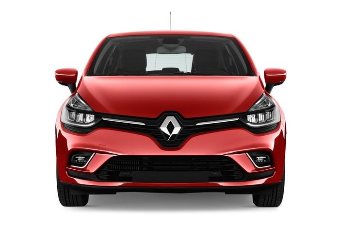 Les faces avant actuelles (ici celle d'une Renault Clio) protègent les piétons plus efficacement que leurs ancètres, grâce à une action commune du Lab qui regroupe Renault et PSA