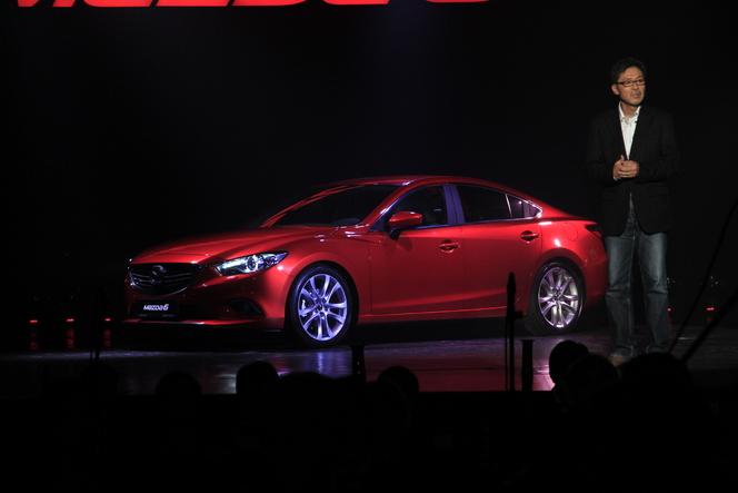 De notre envoyé spécial au salon de Moscou 2012 : Nouvelle Mazda 6, plus spacieuse et plus légère