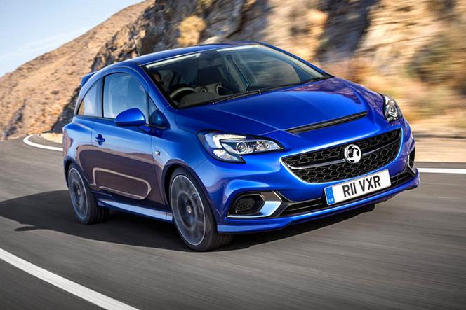 Surprise : l'Opel Corsa OPC en fuite le plus mauvais jour de l'année