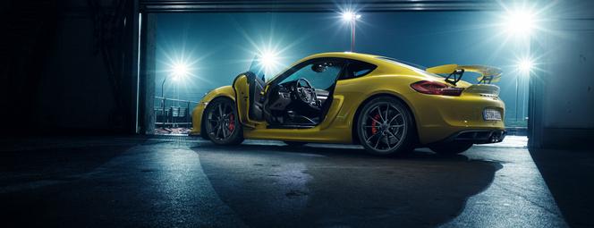 Genève 2015 : Porsche Cayman GT4, 385 ch pour le plus méchant des Cayman