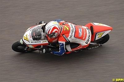 125 - 2008: Louis Rossi titulaire sur la Honda FFM