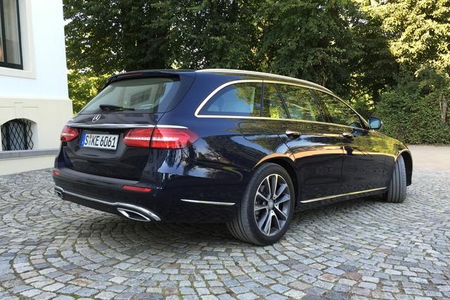 La Mercedes Classe E SW arrive en concession : la référence