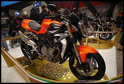 Salon de Milan en direct : MV Agusta Brutale 989R et 1078RR
