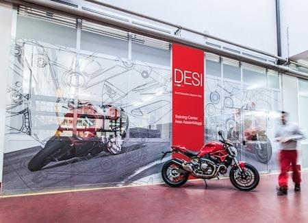 Filiales Ducati et Lamborghini du groupe Audi: le programme DESI