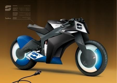 Concept : Bako imagine le futur avec sa moto électrique