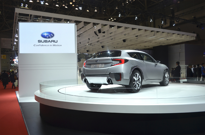 Tokyo 2013 : Subaru Cross Sport Design concept, le BRZ shooting brake crossover