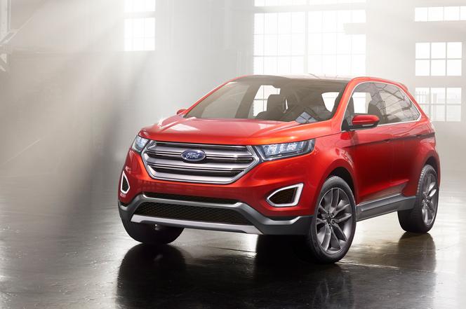 Los Angeles 2013 : Ford Edge Concept, bientôt chez nous