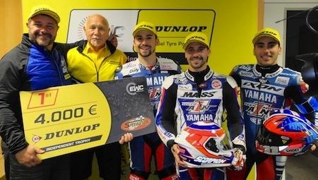 Endurance, 8 Heures d'Oschersleben: Moto Ain CRT gagne l'EWC Dunlop Independent Trophy
